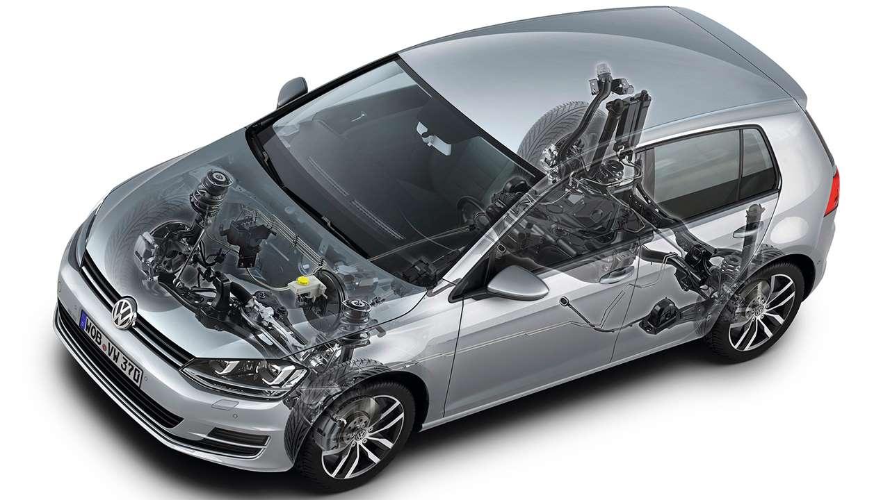 Подвеска Volkswagen Гольф 7
