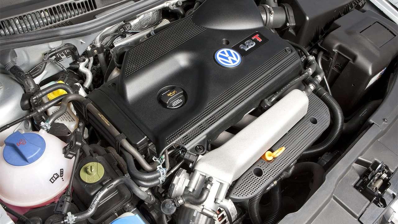 Двигатель четвертого Гольфа ГТИ