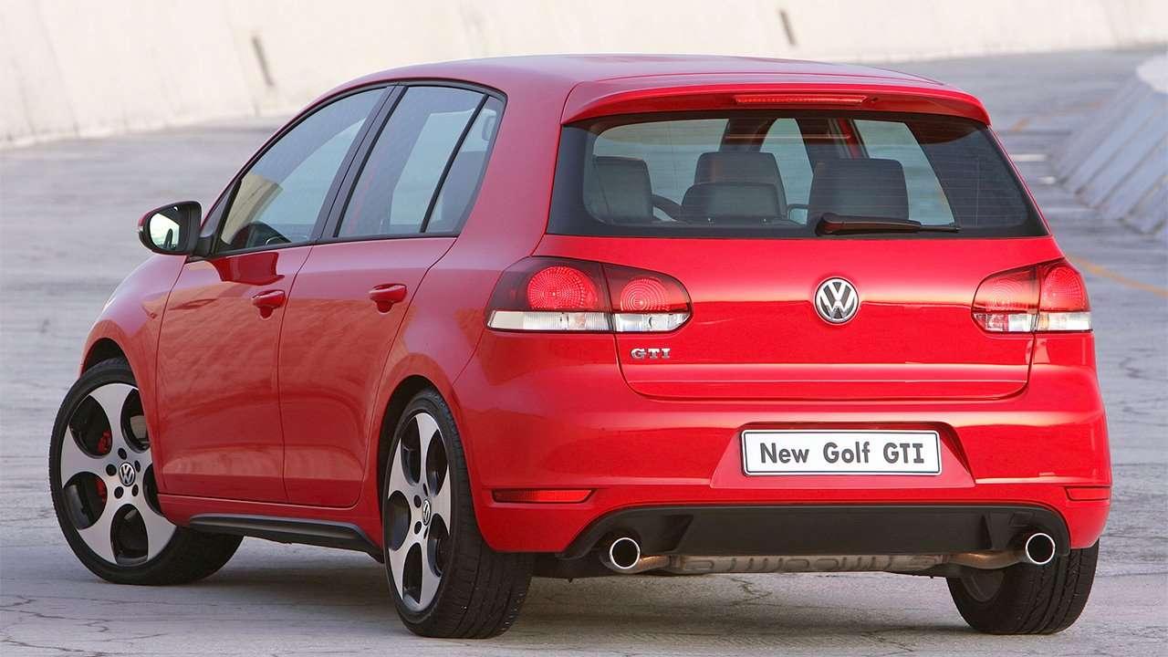 Задняя часть Volkswagen Golf GTI 6