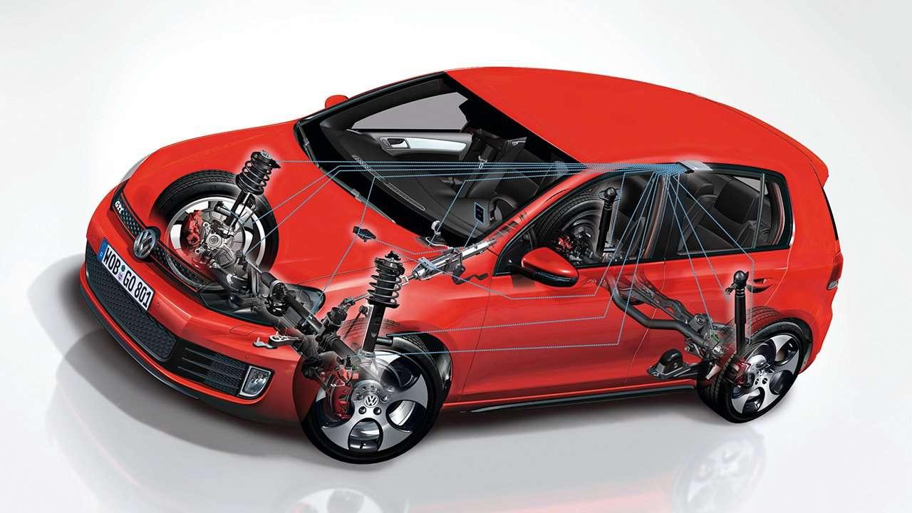 Подвеска Volkswagen Golf GTI mk6