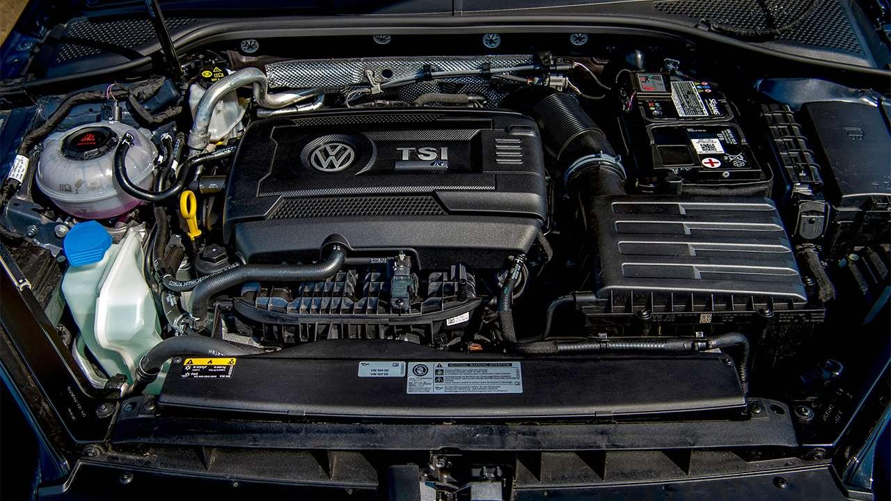 Фото двигателя Фольксваген Golf R