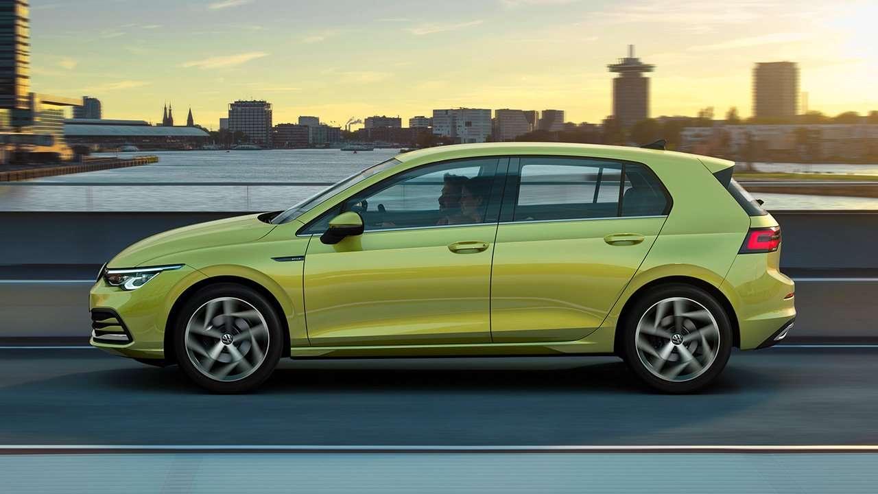 Боковая часть Volkswagen Golf 2020-2021