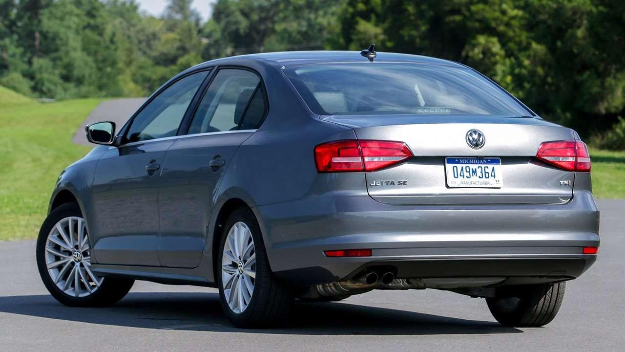 Volkswagen Jetta NF (2014-2019) фото сзади