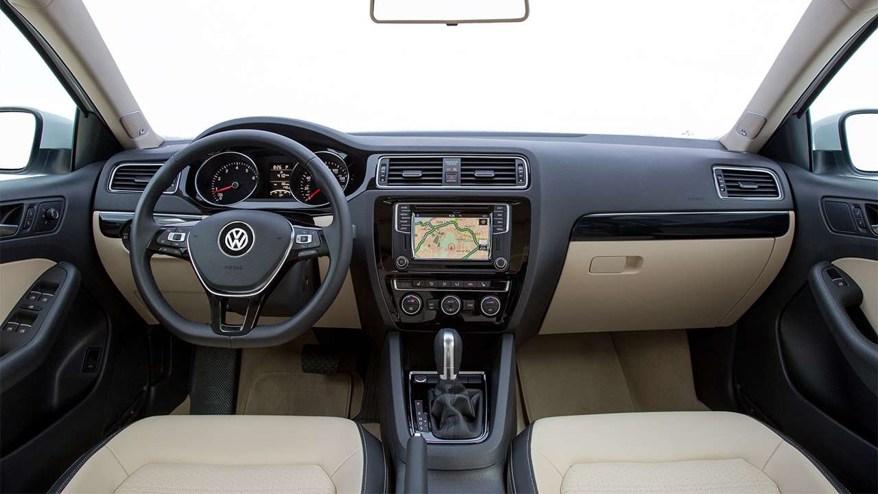 Volkswagen Jetta NF (2014-2019) салон