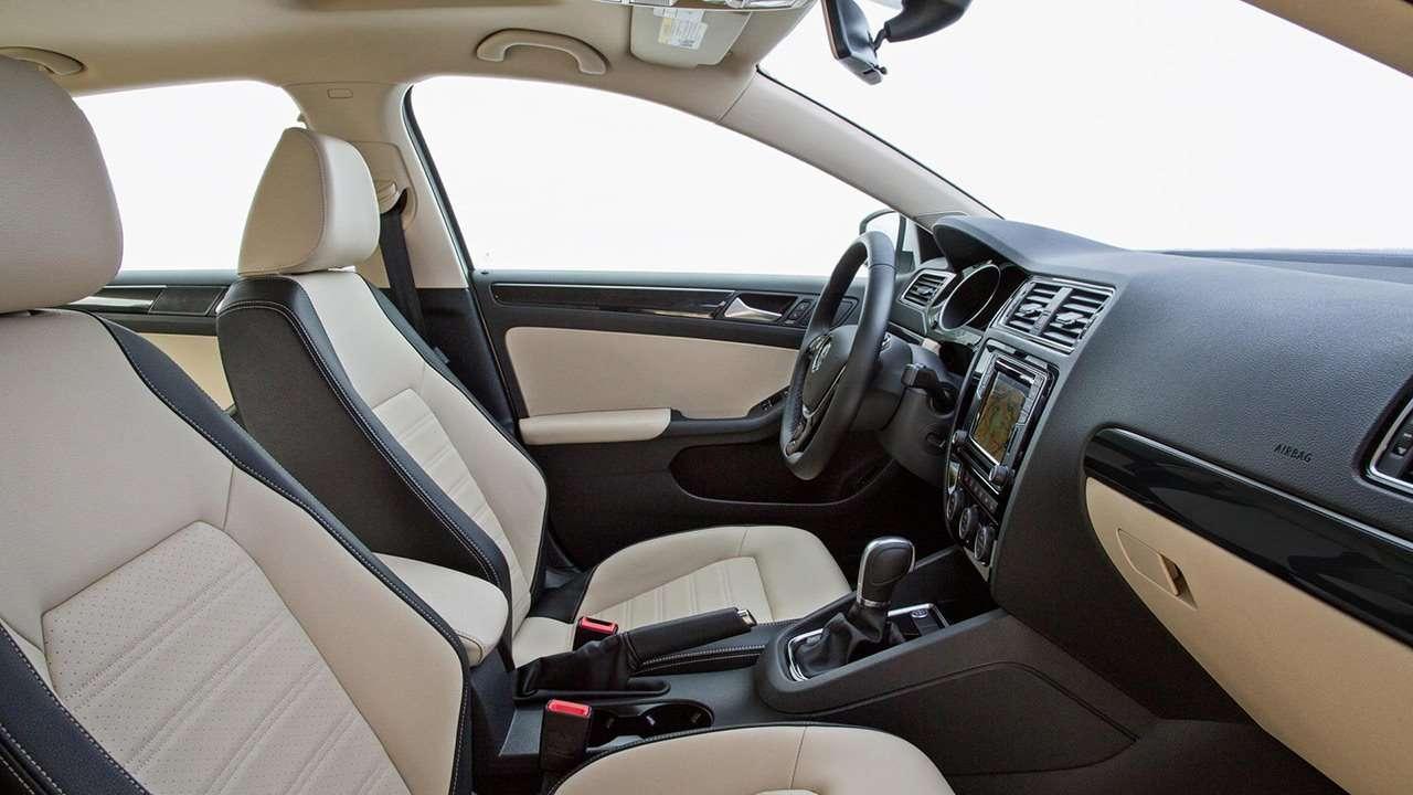 Volkswagen Jetta NF передние сиденья
