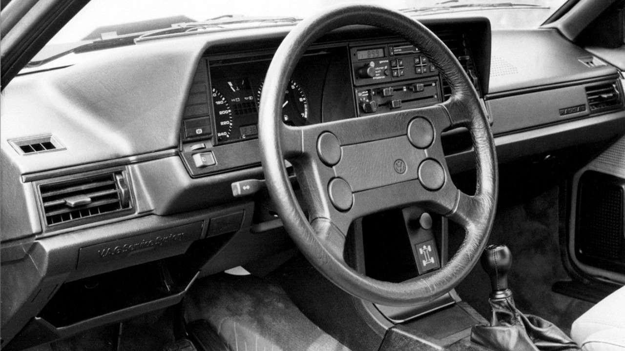 Салон Volkswagen Passat B2