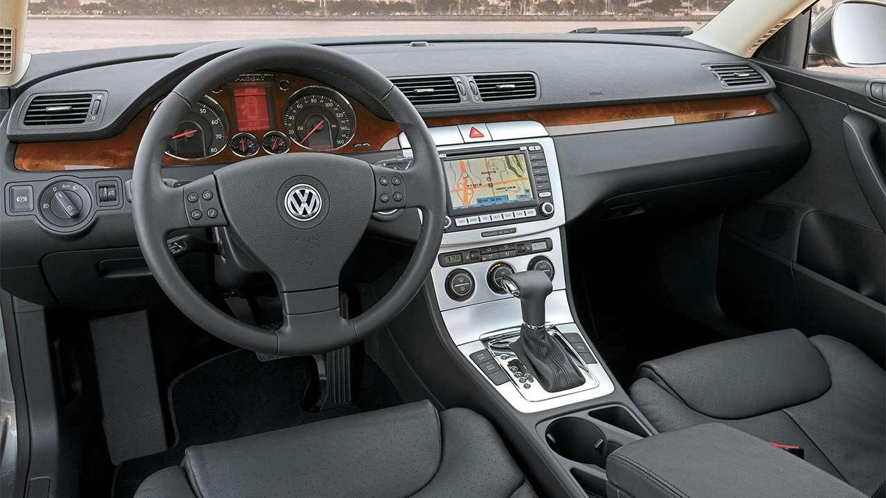 Салон Volkswagen Passat B6