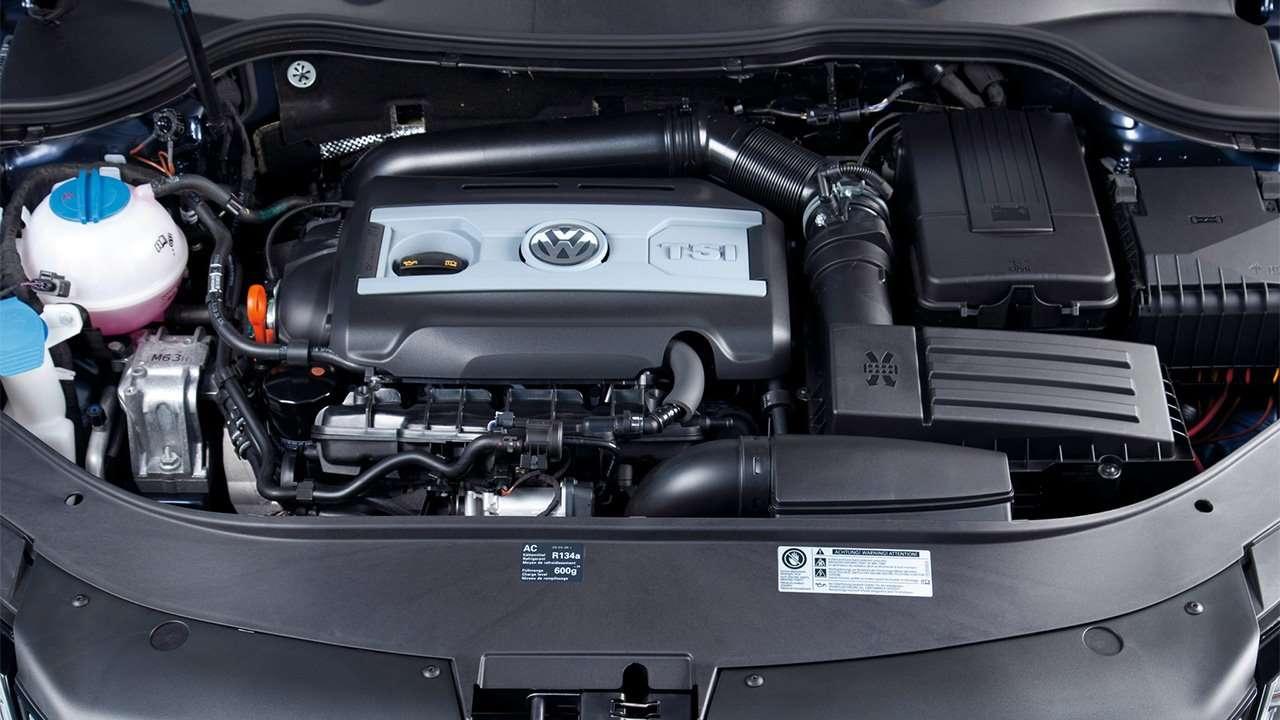TSI двигатель Passat B7