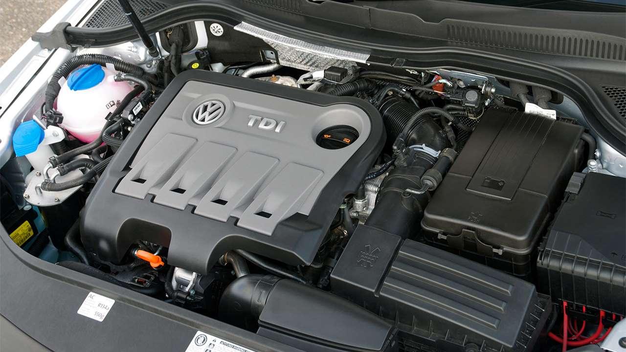 Дизельный мотор Volkswagen Пассат СС