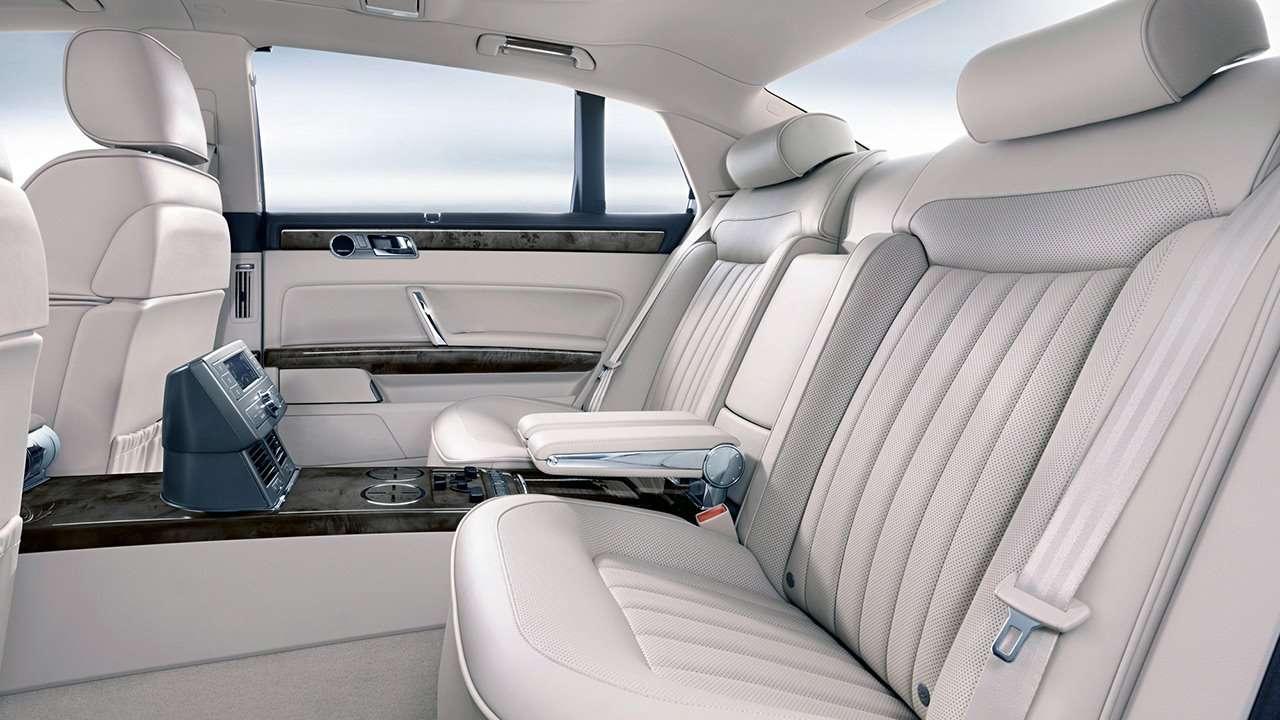 Volkswagen Phaeton 2015 интерьер