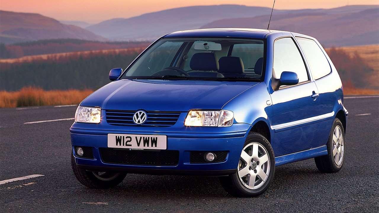 Передняя часть Volkswagen Polo 3