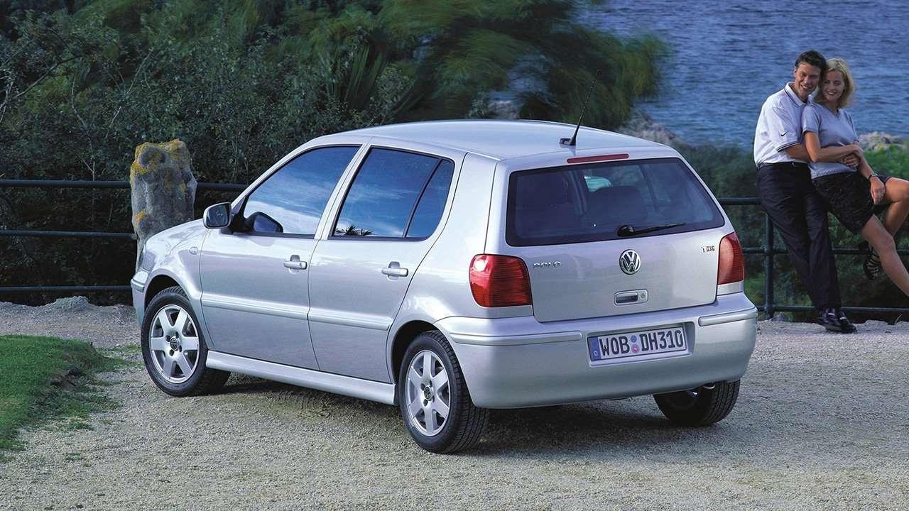 Задняя часть Volkswagen Polo 3