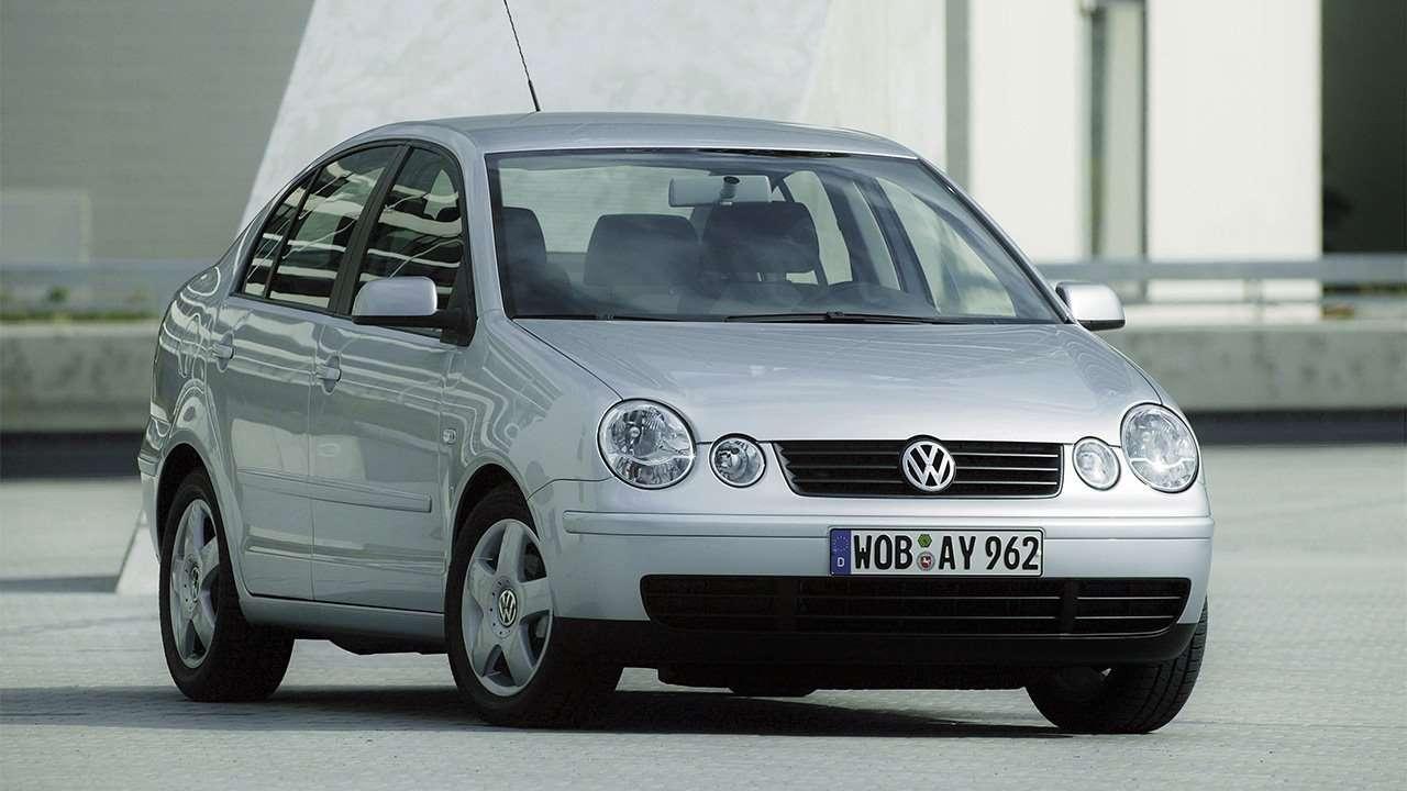 Передок седана Volkswagen Polo 4