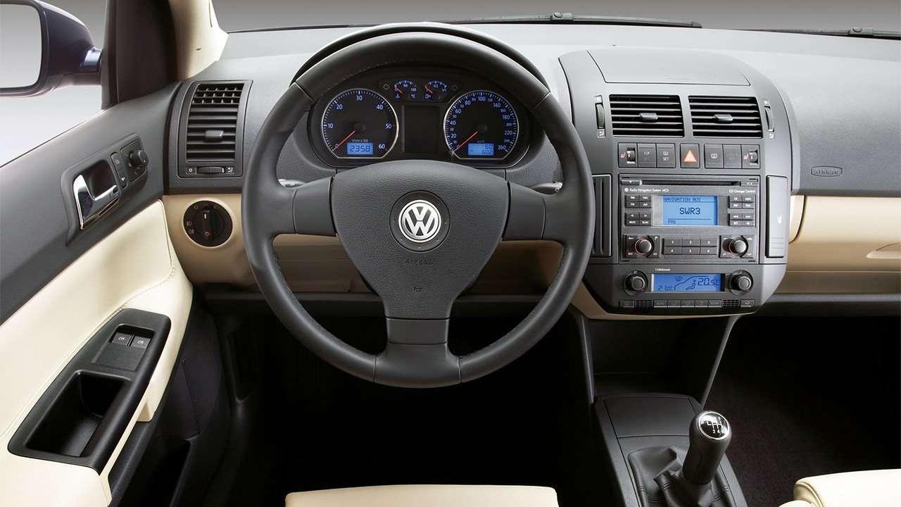 Салон Volkswagen Polo 4