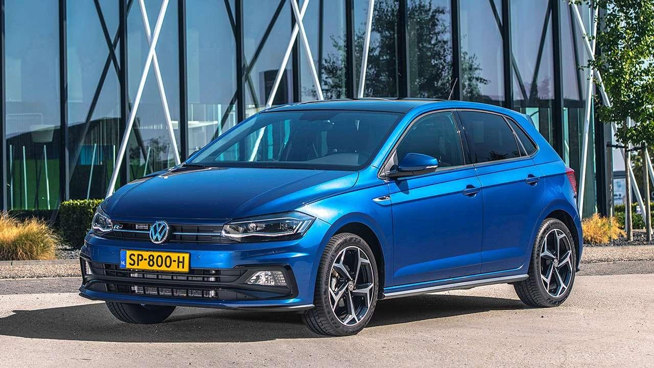 Передняя часть Volkswagen Polo 2020-2021
