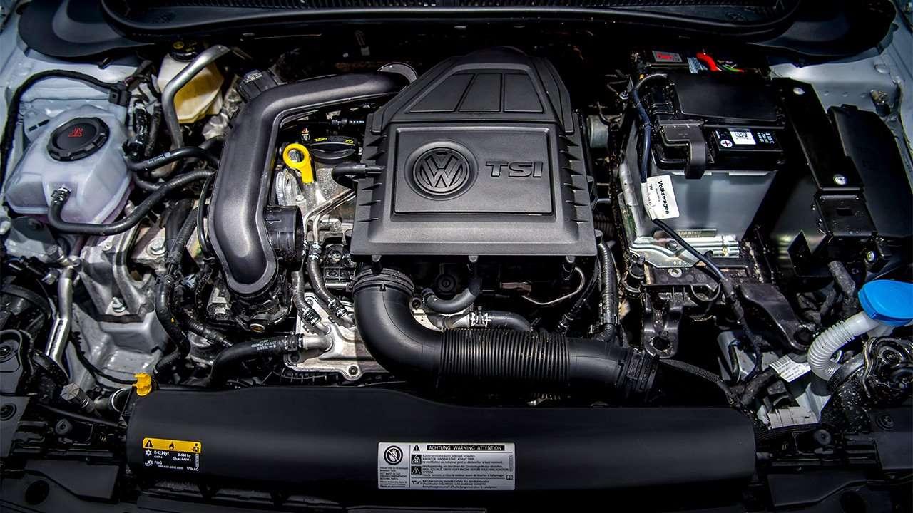 TSI двигатель нового Volkswagen Polo