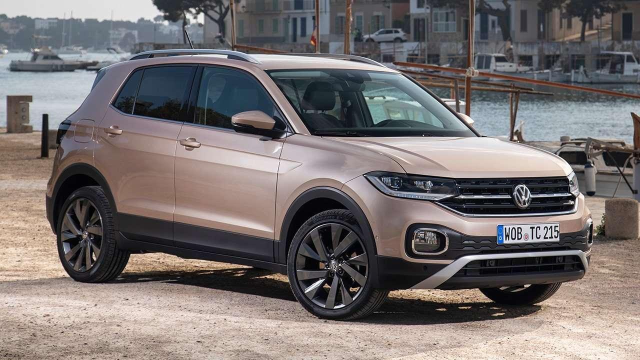 Volkswagen T-Cross 2019-2020 фото спереди
