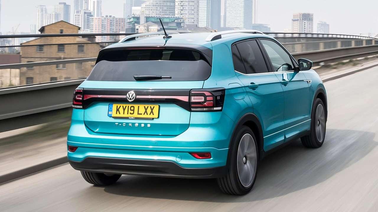 Задняя часть Volkswagen T-Cross 2019-2020
