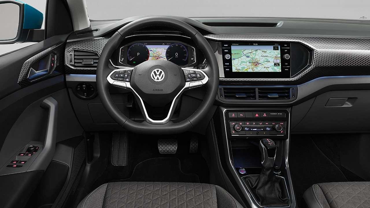 Фото салона Volkswagen T-Cross 2019-2020