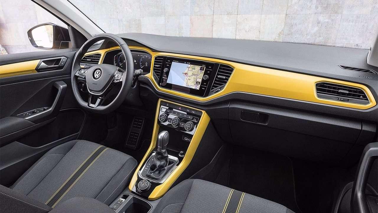 Фото салона Volkswagen T-Roc 2019-2020
