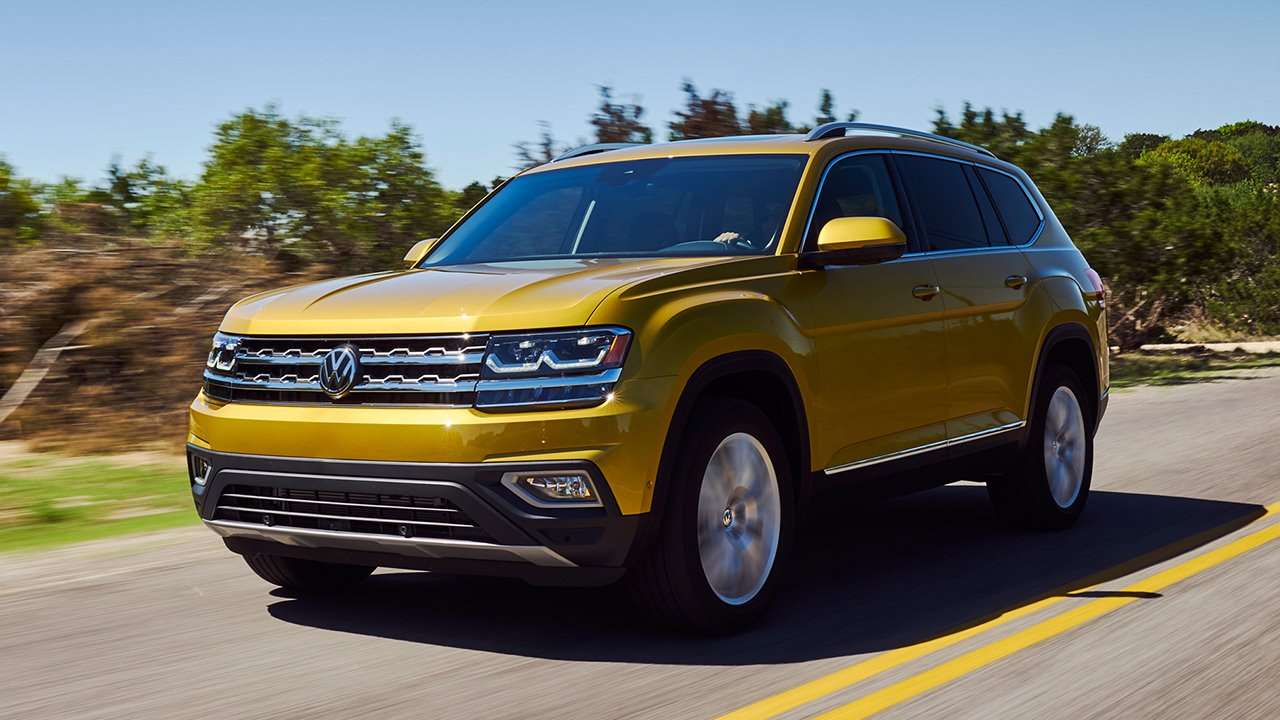 Volkswagen Teramont / Atlas 2019-2020 фото спереди