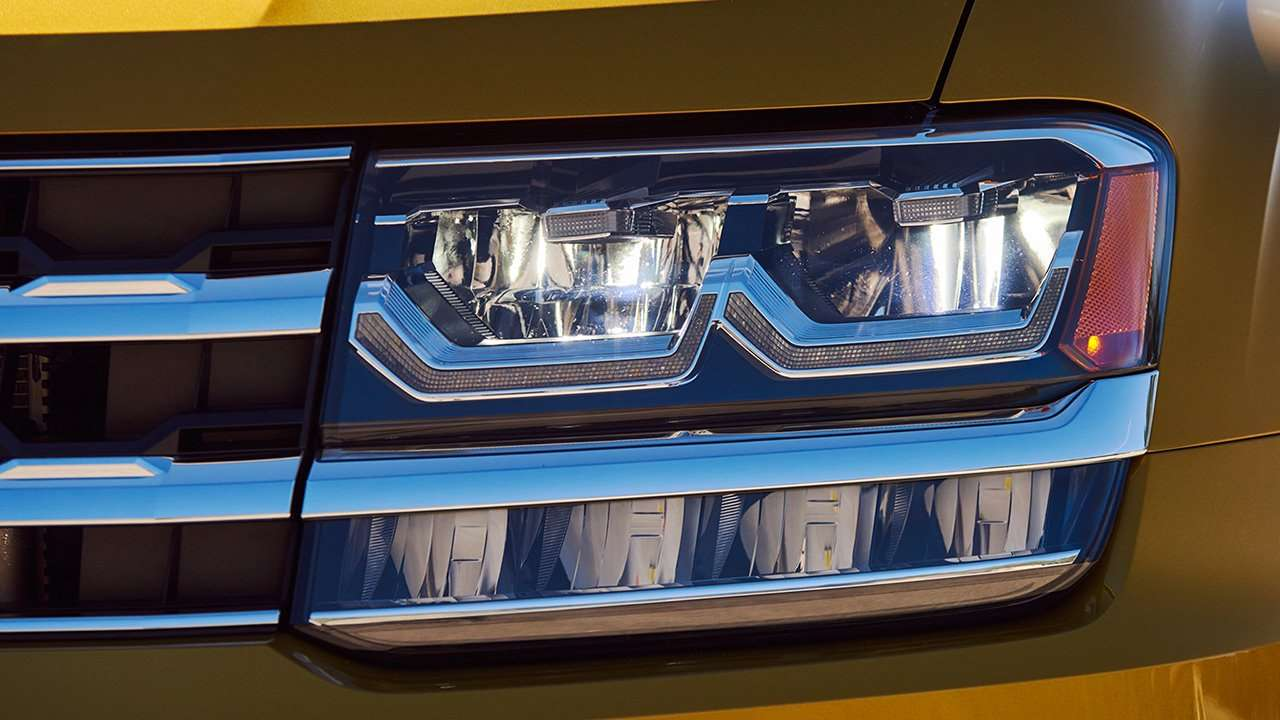 Volkswagen Teramont / Atlas 2019-2020 фото передней фары