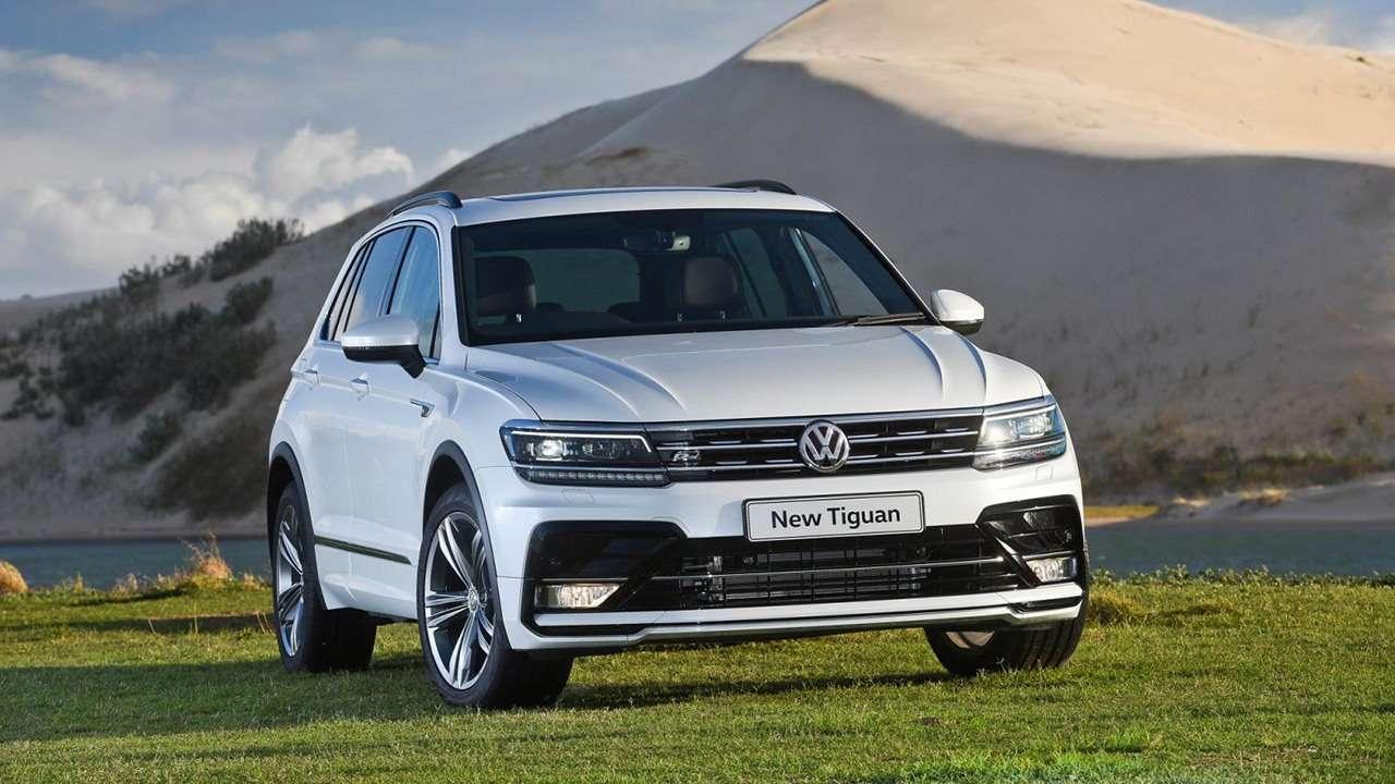 Volkswagen Tiguan 2020-2021 фото спереди