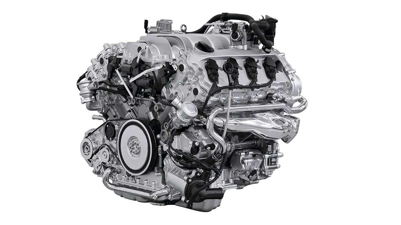Мотор Touareg GP V8