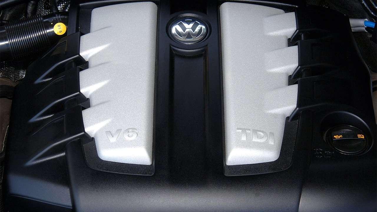 Дизельный V6 Туарега