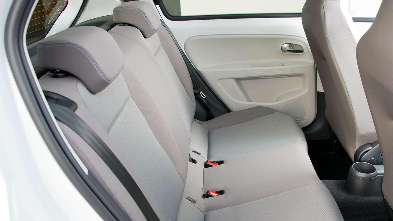 Задние сиденья Volkswagen up! 2016