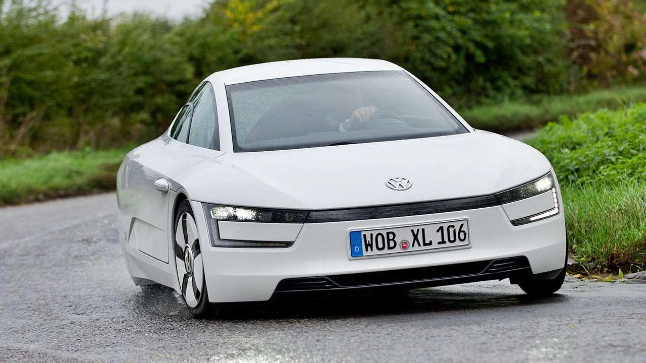 Volkswagen XL1 фото спереди