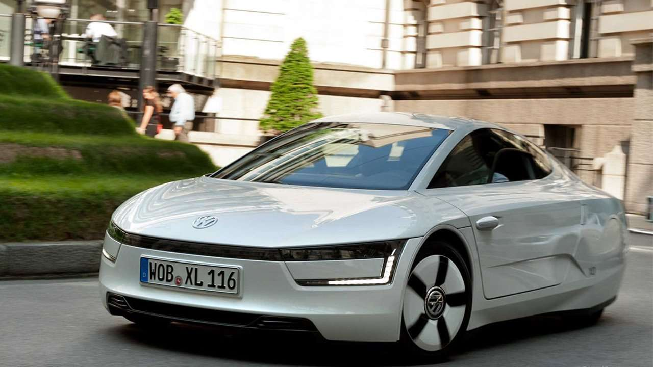 Volkswagen XL1 фото передка