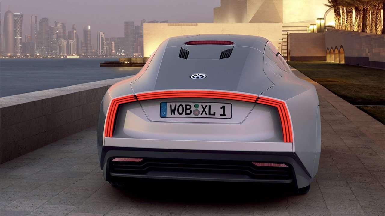 Задняя часть Volkswagen XL1
