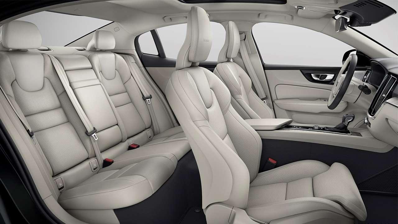Сиденья новой Volvo S60