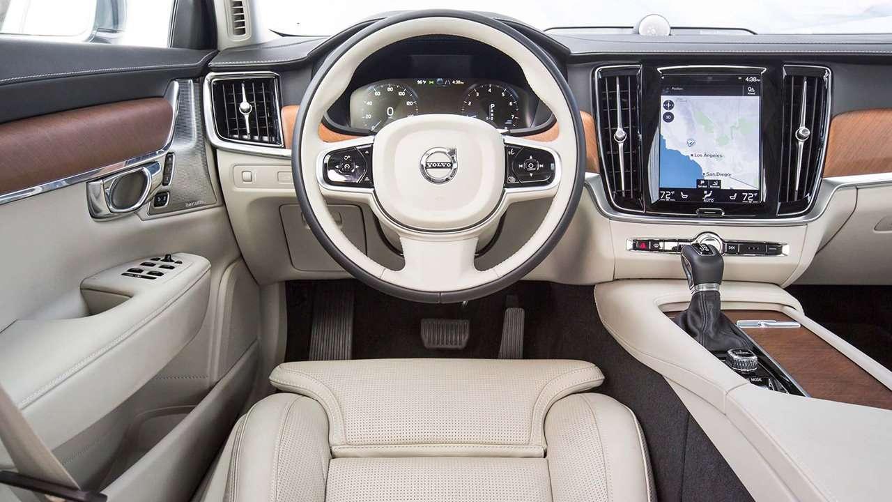 Салон Volvo S90 2020-2021