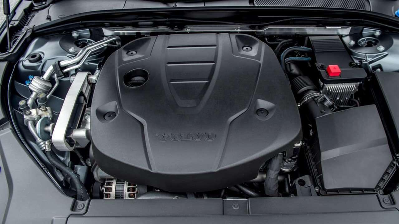 Двигатель T6 Volvo S90 2020-2021