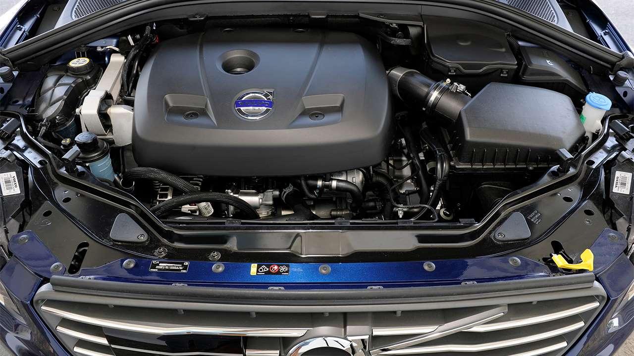 Подкапотное пространство Volvo XC60 2013-2017