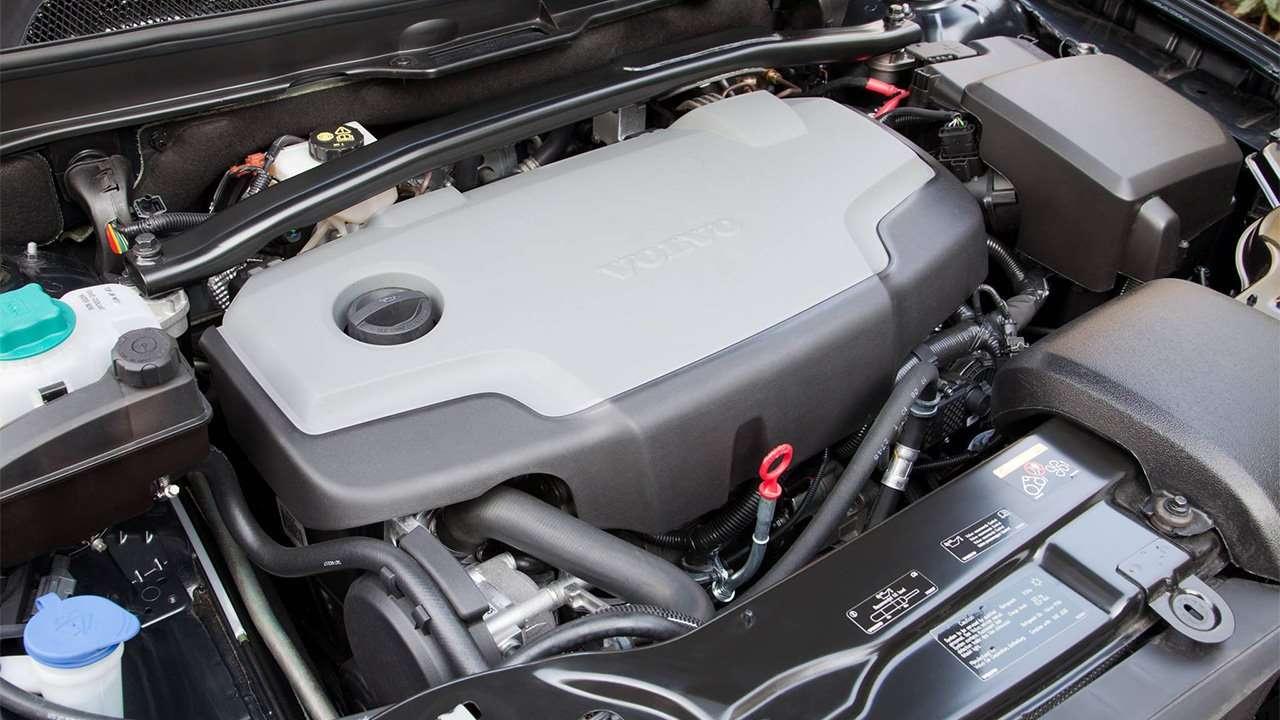 Дизельный мотор XC90 P28
