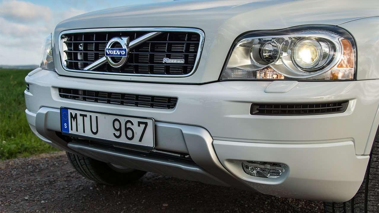 Морда Volvo XC90 P28