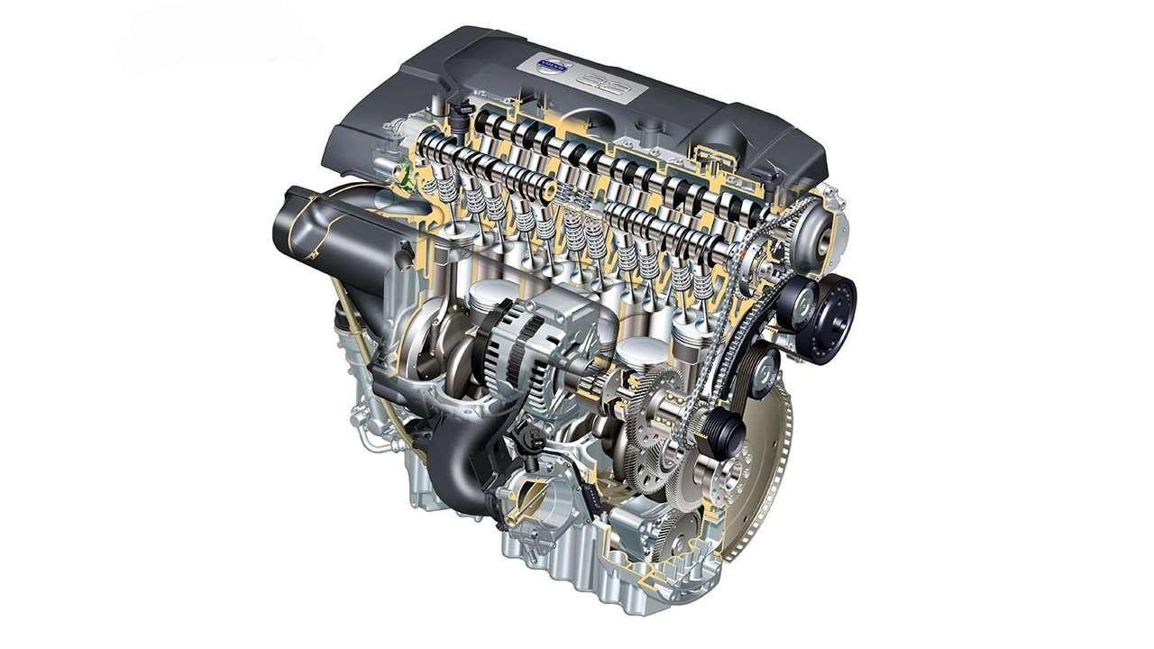 3,2-литровый двигатель ХС90