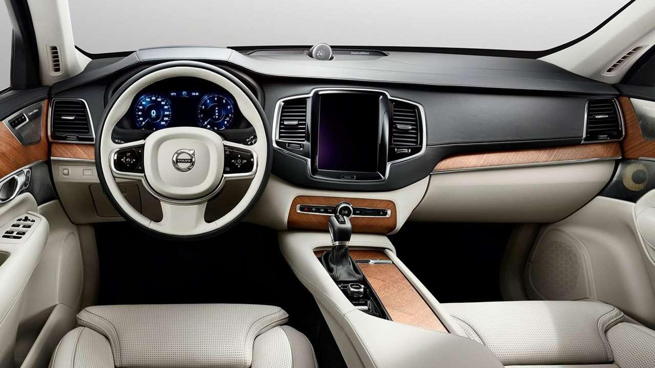 Volvo XC90 2020-2021 салон