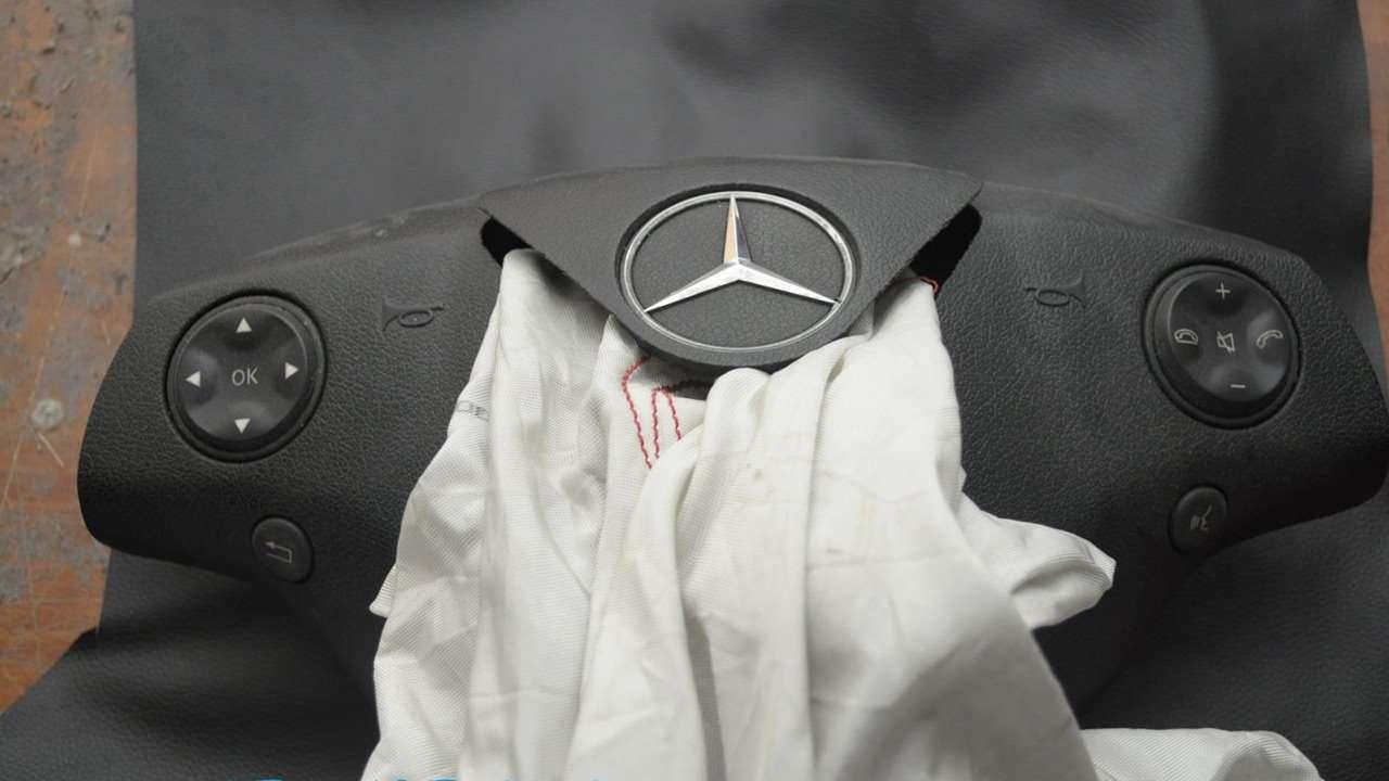 Замена водительской подушки